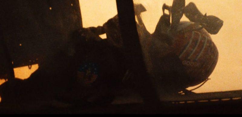 映画トップガンのグースの死因