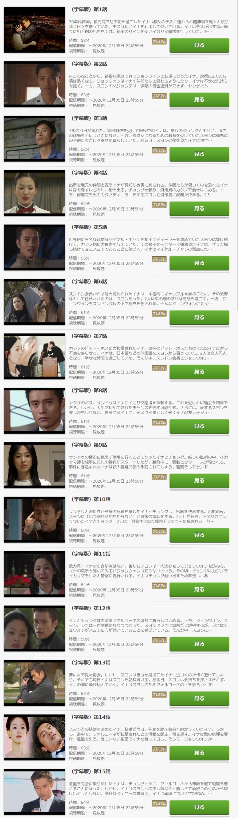 オールイン(韓国ドラマ)の動画無料視聴方法