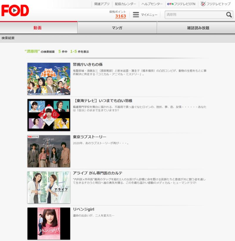 東京ラブストーリー2020(清原翔ドラマ)の動画無料視聴方法